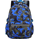 OuTrade School Backpack, Great for School, Casual Daypack Travel Outdoor Camouflage Backpack for...