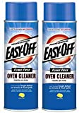 Easy Off Professional Fume Free Oven Cleaner Aerosol, (24 Ounce Can, Pack of 2)