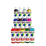 Colorations Classic Colors Liquid Watercolor Paint Classroom Supplies for Kids Arts and Crafts...