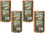 4-Pack of Mr. Bird's Bugs, Nuts, Fruit Small Wild Bird Seed Cylinder 24 oz.