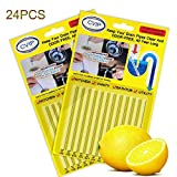 Drain Clog Remover Sticks, Drain Cleaner Sticks Keep Pipes Clean and Sink Odor Free Deodorizer for...