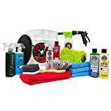 Chemical Guys HOL148 16-Piece Arsenal Builder Wash Kit with TORQ Blaster Foam Gun, Bucket and (6) 16...