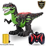 TEMI Remote Control Dinosaur for Kids Boys Girls, Electronic RC Toys Educational Walking...