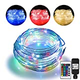 66ft Led Rope Lights Outdoor String Lights with 200 LEDs,16 Colors Changing Waterproof Starry Fairy...