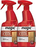 Magic Wood Furniture Cleaner and Polish - 24 Ounce (2 Pack) - Restore Wood Doors Tables Chairs and...