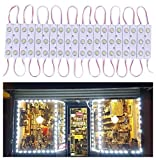 20 FT Store Window Light Kits 5730 3 Led Module Lights with AC Power Plug ON/Off Switch for...