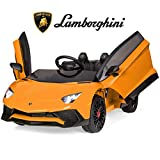 Best Choice Products Kids 12V Ride On Battery Powered Vehicle Lamborghini Aventador SV Sports Car...
