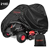 Eventronic Riding Lawn Mower Cover, Riding Lawn Tractor Cover 210D Waterproof Heavy Duty Durable...