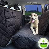 Tapiona XL Dog Seat Cover - Truck & SUV Extra Coverage Back Seat Cover - 56Wx96L - Large Pets...