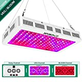 Yehsence 1500w LED Grow Light with Bloom and Veg Switch, (15W LED) Triple-Chips LED Plant Growing...