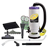 ProTeam Commercial Backpack Vacuum Cleaner, Super QuarterVac Vacuum Backpack with HEPA Media...