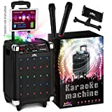 Karaoke Machine for Kids & Adults - 2019 New Wireless Microphone Speaker with Disco Ball, 2 Wireless...