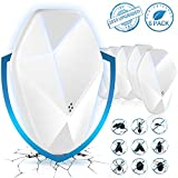 FantaSee Ultrasonic Pest Repeller Pack of 6, Indoor Mosquito Repellent Wall Plug in, Child and Pet...