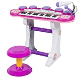 Best Choice Products 37-Key Kids Electronic Musical Instrument Piano Toy Keyboard w/ Record and...