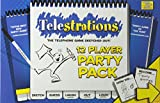 USAOPOLY Telestrations Party Pack 12 Player Party Game | #1 Party Game for All Ages | Play with Your...
