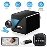 Hidden Camera, WiFi HD 1080P Mini Spy Camera, Wireless Indoor Home Security Nanny Cam with Motion...