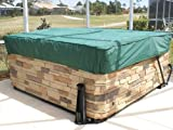 Covermates - Square Hot Tub Cover - Cap 84W x 84D x 14H - Classic Collection - 2 YR Warranty - Year...