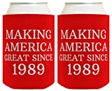 Birthday Gifts for 30th Birthday Making America Great Since 1989 30th Birthday Gag Gifts for...