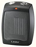 Lasko CD09250 Ceramic Portable Space Heater with Adjustable Thermostat - Perfect For the Home or...