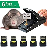 Samofik Best Mouse Trap [6 Pack], Rat/Mice Traps That Work, Effective and Sensitive Mouse Catcher,...