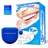 The ConfiDental - Pack of 5 Moldable Mouth Guard for Teeth Grinding Clenching Bruxism, Sport...