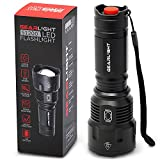 GearLight High-Powered LED Flashlight S1200 - Mid Size, Zoomable, Water Resistant, Handheld Light...