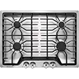 Frigidaire FFGC3026SS 30' Gas Sealed Burner Style Cooktop with 4 Burners, ADA Compliant in Stainless...