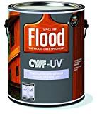 Penetrating Wood Finish, Cedar, 1 gal, Cwf-Uv, Flood for Decks, Fences and Siding