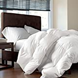 LUXURIOUS FULL / QUEEN Size Siberian GOOSE DOWN Comforter, 1200 Thread Count 100% Egyptian Cotton...