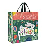 Blue Q Shopper Bag, Your Garden is Amazing, Made Out of 95% Recycled Materials, 15 by 16 by 6 inches