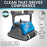 Dolphin Oasis Z5i Robotic Pool Cleaner with Powerful Dual Drive Motors and Bluetooth, Ideal for...