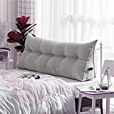 WOWMAX Triangular Wedge and Body Positioners Reading Pillow Large Bolster Headboard Backrest Support...