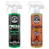 Chemical Guys AIR_300 New Car Scent and Leather Scent Combo Pack (16 oz) (2 Items)