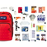 Complete Earthquake Bag - Emergency kit for earthquakes, hurricanes, floods + other disasters (2...
