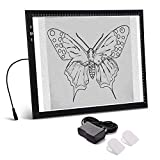 A3 Light Box Light Pad Aluminium Frame Touch Dimmer 11W Super Bright Max 3500 Lux with Free...