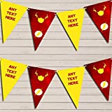 Superhero The Flash Children's Birthday Bunting Garland Party Venue Decoration Party Flag Banner...