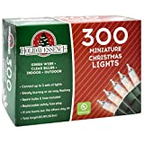 Holiday Essence 300 Mini Clear Lights, Christmas String Lights for Indoor and Outdoor Decorative...