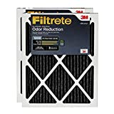 Filtrete 16x25x1, AC Furnace Air Filter, MPR 1200, Allergen Defense Odor Reduction, 2-Pack