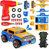 Big Mo's Toys Building Car - Build Your Vehicle Racing Cars Project Gift Kit Present for Boys and...