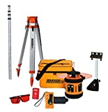 Johnson Level & Tool 99-006K Self Leveling Rotary Laser System Kit, Soft Shell Carrying Case,...