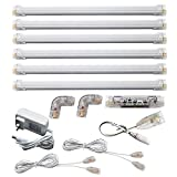 Under Cabinet Lighting, Color Temperature Tunable 2800k-6500k, 12 inch LED, 6 Panel Kit, Total of...