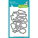 Lawn Fawn Lawn Cuts Custom Craft Die - Toboggan Together (LF977)