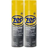 Zep Stainless Steel Cleaner 14 Ounce (Pack of 2)