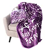 Blankiegram I love You Throw Blanket  The Perfect Caring Gift for Best Friends, Couples & Family,...