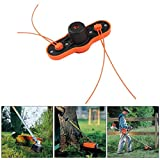 GONGting 2019 Rapid Reload Weed String Trimmer Universal Fit ABS Trimmer Head for Pivotrim for Stihl...