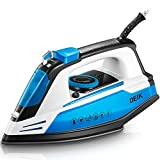 Deik Steam Iron, Vertical Steamer with Anti-Calcium System, Non-Stick Soleplate, Self-Cleaning...