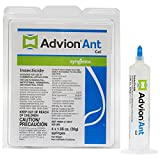 4 Tubes Dupont Advion Ant Gel Bait w/ 1 Plunger (30 grams per Tube) ~~ Kill Argentine , Big Headed ,...