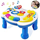 HOMOFY Homof Baby Toys Musical Learning Table 6 Months Up-Early Education Music Activity Center Game...
