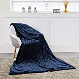 MaxKare Large Electric Heated Blanket Adjustable Timer 3 Heating Levels, Heated Throw Blanket...