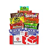 Redbox Movie Night Care Package with Popcorn, Candy and Movie Rental for College Students, Father's...